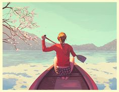 icono Cero: Dibujantes, Guy Shield y su narrativa cinematográfica. #dibujo #ilustracion #paisajes #verano