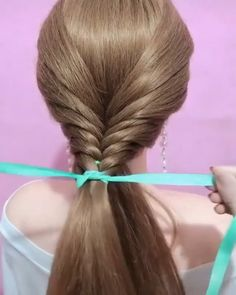 Perfect Hair tutorial - Perfect Hair tutorial you can have a try, looks easy! Easy Hairstyle Video, Long Hair Video, Cute Hairstyles For Short Hair, Diy Hairstyles, Curly Hair Styles, Hairstyles For Short Hair Easy, Ag Doll Hairstyles, Hairstyles Videos, Updo Hairstyle
