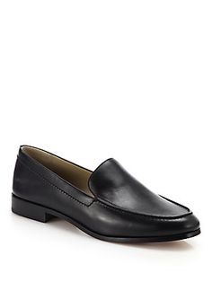 Michael Kors Collection Wren Leather Loafers