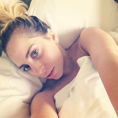Bare-Faced Celebs: The Best No-Makeup Selfies on Instagram - Lady Gaga from #InStyle