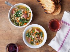 Italian Vegetable Soup (Zuppa di Verdure all'Agliata) | Unlike a classic slow-cooked minestrone, the vegetables are cooked quickly to preserve their bright flavor.