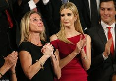 Ivanka was seated next to Carryn Owens, the widow of a Navy SEAL slain during a controversial anti-terrorism raid