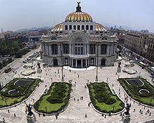 Center. Palace of Fine Arts - beautiful, Diego Rivera, Siqueiros and Tamayo murals. http://en.wikipedia.org/wiki/Palacio_de_Bellas_Artes