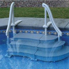 Pool Ladders Pool Steps Above Ground Pool Steps Decks