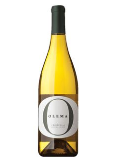 Olema Chardonnay Sonoma ~ Very nice wine for under $20.  It is crisp, smooth with a hint of fruit.