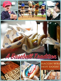 Who doesn't love a hot dog at a baseball game?