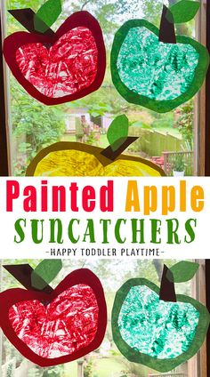 Easy Fall Crafts, Fall Crafts For Kids, Toddler Crafts, Art For Kids, Fall Activities For Toddlers, Apple Activities, Kids Falling, Leaf Crafts, Kids And Parenting