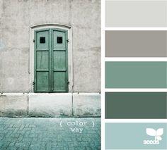 laundry room (light gray, light charcoal, powder blue, dark seafoam, chalkboard)