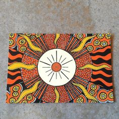 Blazing sun zentangle color photo art print by CrowsdanceDesigns love ...