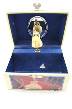 Disney Parks Exclusive Belle Beauty the Beast Musical Jewelry Box