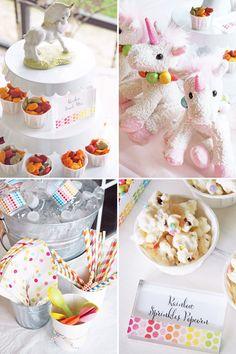 Magical Rainbow Unicorn Birthday Party