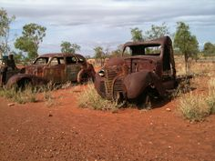 Streetcar named Desire?? *LOL*  ... old derelict cars in the middle of Australia. <3