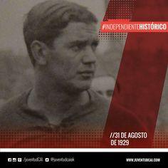 #IndependienteHistorico Amistoso frente al Bologna con empate 1 a 1 . El gol fué convertido por Manuel Seoane.