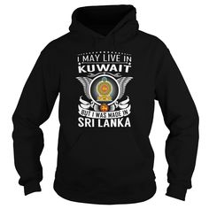 (Tshirt Deal Today) Sri Lanka Kuwait Born Live at Sunday Tshirt Hoodies, Funny Tee Shirts