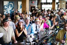 """TALK DERBY TO ME Join us for a day (and night) of Derby! Enjoy a true Iron Horse Hotel experience with bottomless Mint Juleps and a Custom Deluxe Room to call home for the night. Click here to learn more about our annual """"Talk Derby To Me"""" party."""