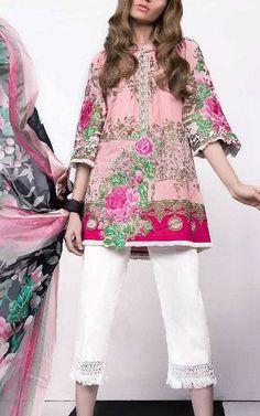 Online Indian and Pakistani dresses, Buy Pakistani shalwar kameez dresses and indian clothing. Kurti Pakistani, Pakistani Lawn Suits, Pakistani Dress Design, Pakistani Outfits, Indian Outfits, Pakistani Dresses Online Shopping, Pakistani Clothes Online, Online Dress Shopping, Pakistani Clothing