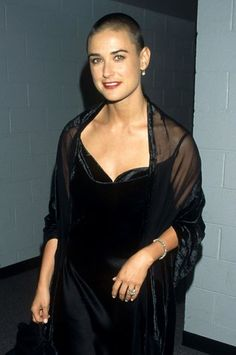 Demi Moore–and 22 other women who completely nailed the buzz cut