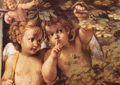 Whispering Angelby Agostino Carracci