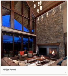 Luxuriously Modern Colorado Mountain Home Fireplaces Anchors And Window