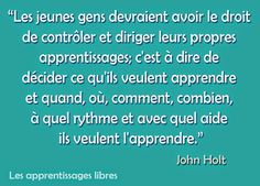 Les apprentissages Libres Homeschool, Blog, Childhood, Education, Law, Learning, I Want You, Home, Infancy