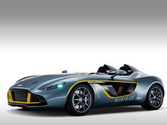 The Aston Martin CC100: The front grille, which is wider than the traditional Aston Martin grille, is one feature that will be seen on future Aston Martin sports cars, as is the distinct crease between the front fenders and hood. The Most Beautiful Cars of the Year - pg.1