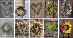 Mosehjerte - Moseplassen Land Art, Terrarium, Wreaths, Plants, Christmas, Home Decor, Cottage, Terrariums, Xmas