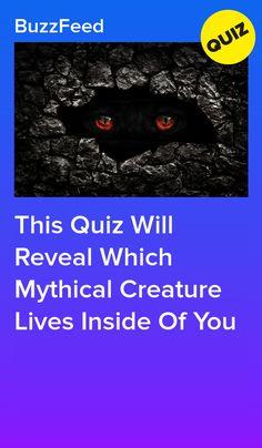 This Quiz Will Reveal Which Mythical Creature Lives Inside Of You. I got Kraken. Tv Show Quizzes, Quizzes Funny, Quizzes For Fun, Random Quizzes, Funny Memes, Disney Quiz, Disney Memes, Mermaid Quizzes, Spirit Animal Quiz
