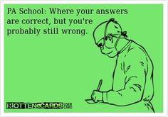 Haha I think I actually said this after my last EKG exam....