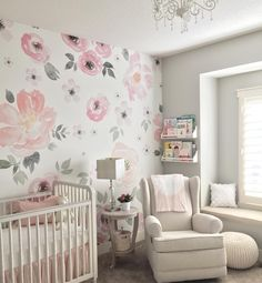 "214 Likes, 29 Comments - Morgan Leiendecker (@morgan_leiendecker) on Instagram: ""More of baby girls nursery. It has become my favorite room in the house. I love spending time in…"""