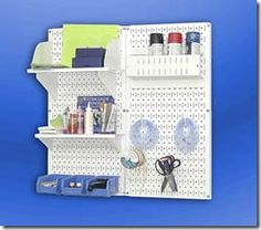 Need these bins & shelves for my HUGE pegboard wall!
