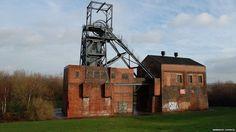 Barnsley Main Colliery buildings