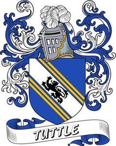 Tuttle family crest