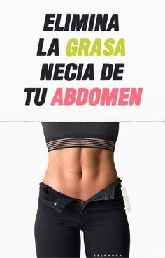 Eliminar grasa abdomnal
