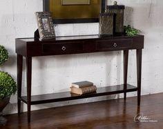 Uttermost 25550 Antero Espresso Console Table by Uttermost , utt-25550