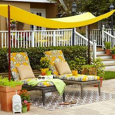 How to build your own DIY Outdoor Shade Canopy outdoor canopy DIY Backyard Canopy Backyard Shade, Backyard Canopy, Outdoor Shade, Canopy Outdoor, Outdoor Decor, Garden Canopy, Outdoor Fabric, Patio Shade, Backyard Retreat