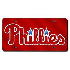 Philadelphia Phillies Laser Cut License Plate Cover