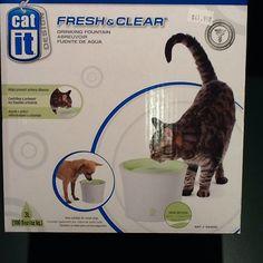Cat It Fresh & Clear Drinking Fountain  $41.99