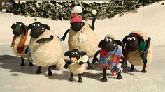 New party member! Tags: animation fun christmas stop motion xmas cold sheep snowball aardman shaun the sheep chilly snowball fight