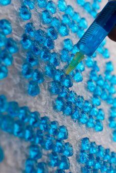 Creatief met bubbeltjesplastic