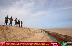 Libia - Tunisia border