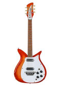 Rickenbacker Rickenbacker 950 Fireglo 1967 Tom Petty, Black Felt, John Lennon, Black Fedora
