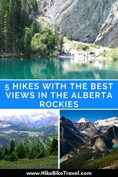 5 Hikes with the Best Views in the Alberta Rockies hiking benefits, tips for camping, womens hiking gear Camping Spots, Camping And Hiking, Hiking Trails, Backpacking, Hiking Gear, Canada Tourism, Voyage Canada, Alberta Travel, Canadian Travel