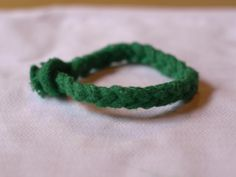 DIY Rope Bracelet for St Patricks day
