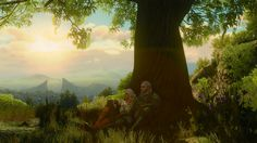 [Spoiler] After playing on and off since release I finally finished everything. Such a beautiful ending shot. #TheWitcher3 #PS4 #WILDHUNT #PS4share #games #gaming #TheWitcher #TheWitcher3WildHunt
