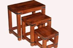 Takhat Nest of 3 Tables