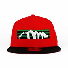 Denver Nuggets Red, Black, Green 59fifty