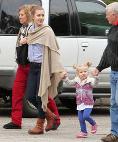 Celebaby Roundup!: Amy Adams and Aviana Le Gallo checked out an LA park Saturday.