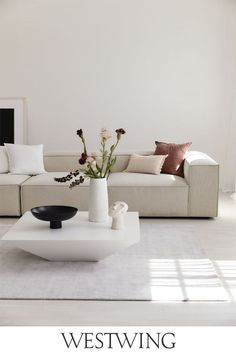 Living Room White, Living Room Sofa, Interior Styling, Interior Design, Sofa Furniture, Sofa Design, Decoration, Architecture Design, New Homes