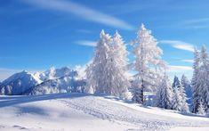 Fondos Escritorio Navide  os de paisajes nevados