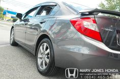 One of our latest arrivals. 2012 Civic. Come check it out at Marv Jones Honda!